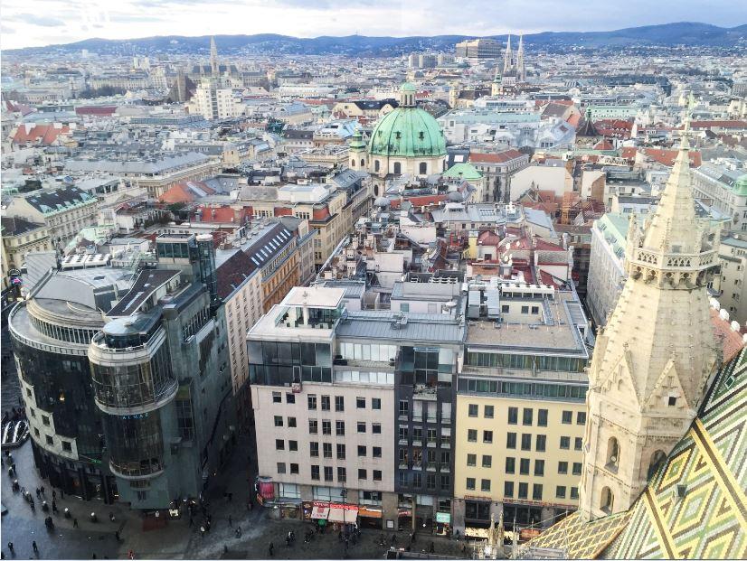 downtown vienna austria