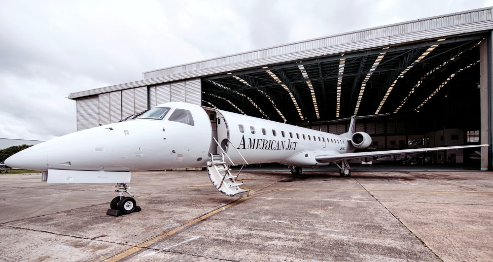 Resultado de imagen para American Jet Embraer E145 png