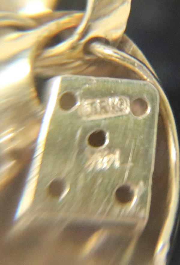 Pearl Amethyst Necklace Bracelet markings