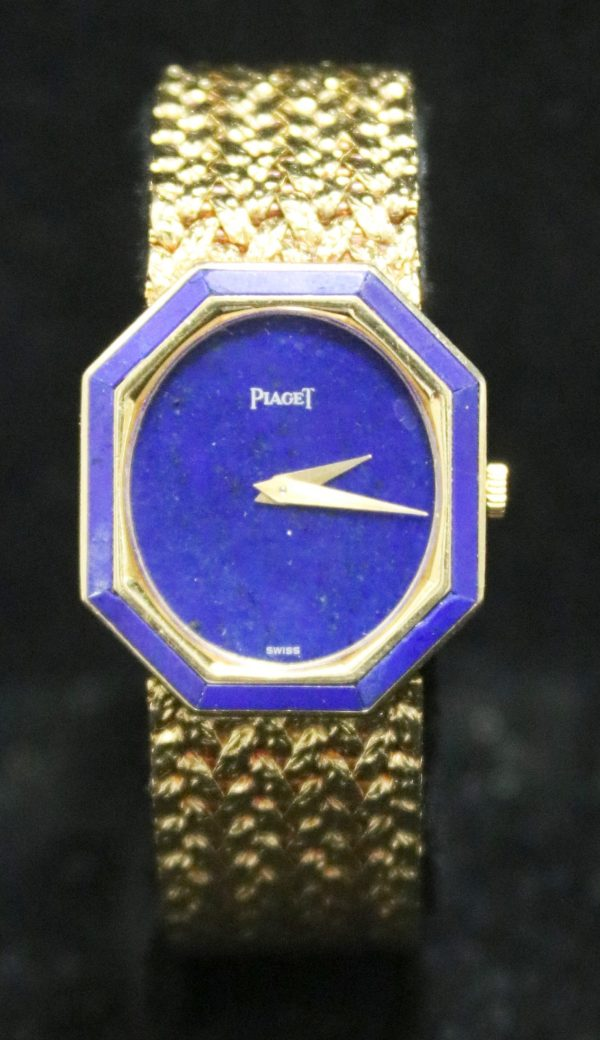 Piaget Solid Gold Watch front pct
