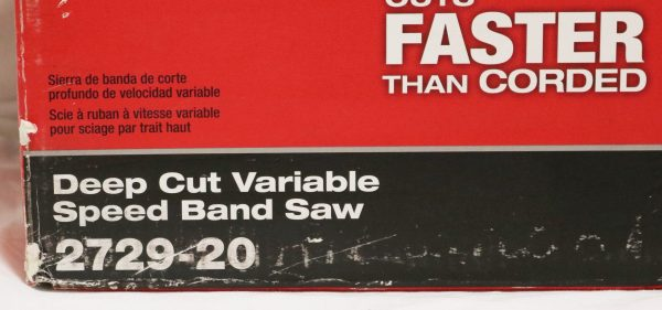 Milwaukee Cordless Band Saw model