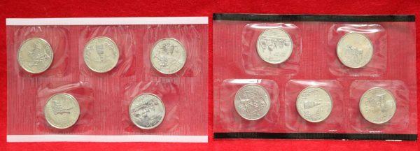2000 Mint Coin Set quarters