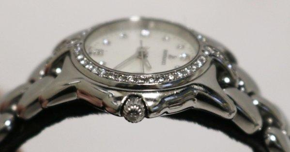Ladies Bertolucci Pulchra Watch stem side