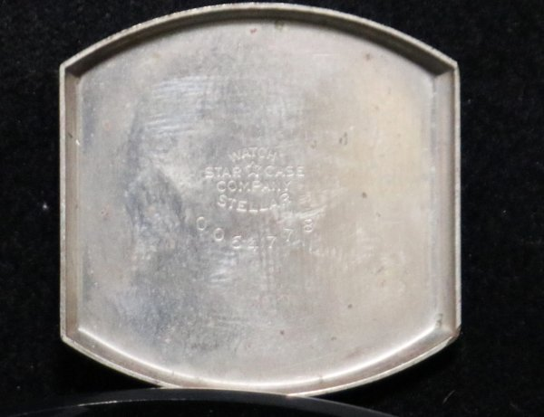 1931 Waltham Wrist Watch backplate