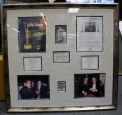 Yogi Berra Autograph Photomin