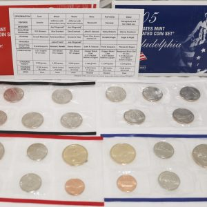 2005 Uncirculated Coin Set main pict