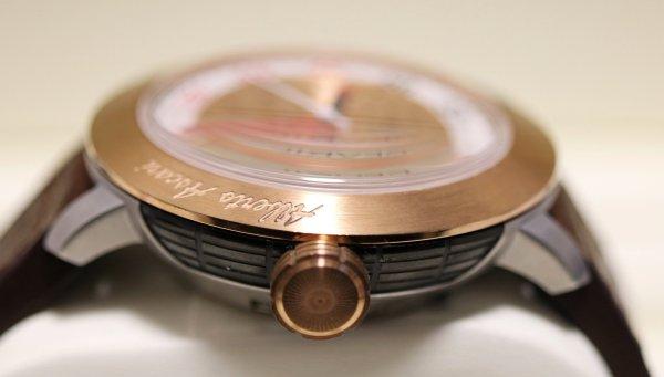 Gevril Alberto Ascari Watch crown