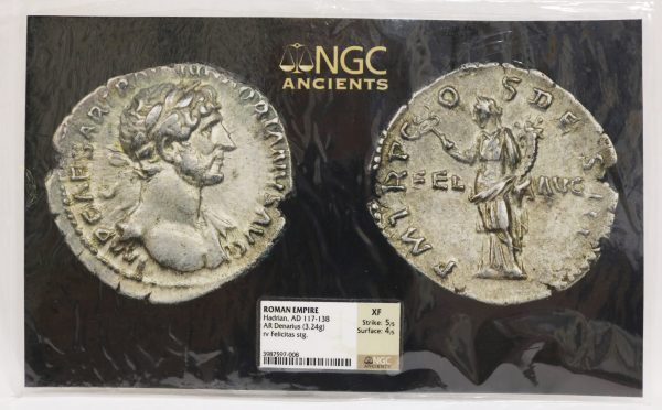 Roman Empire Denarius Coin pict