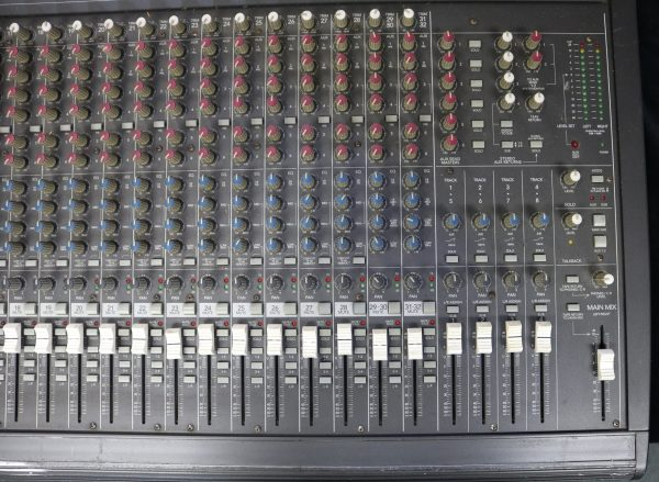 Mackie 32-4 Analog Mixer rt top