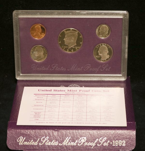 1992-S Proof Coin Set main
