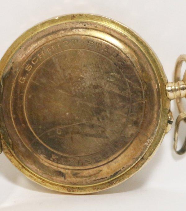 G Schmidt Staub Karlsruhe Watch ,arkings