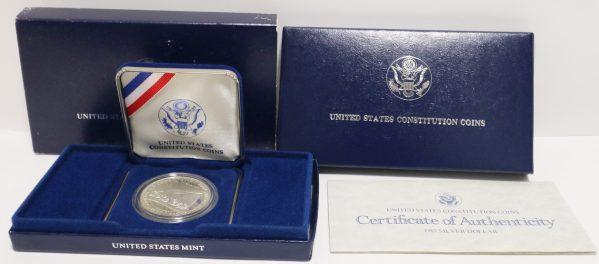 1987s Constitution Silver Dollar main