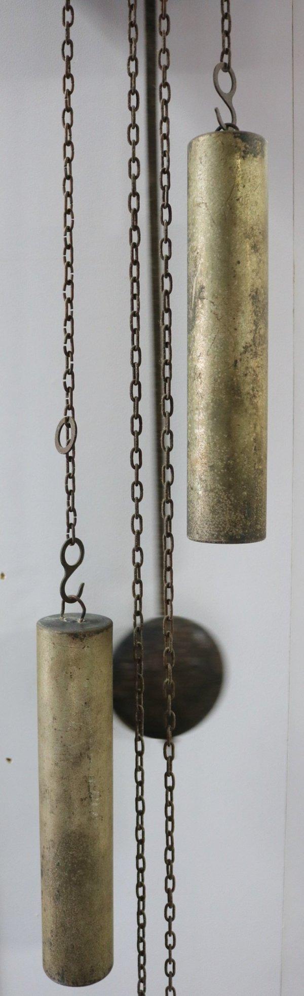 Erwin Sattler Wall Clock weights