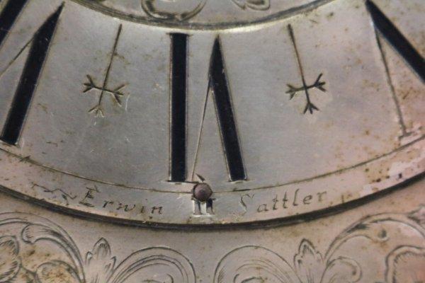 Erwin Sattler Wall Clock emblem