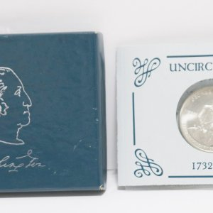 George Washington Half Dollar d