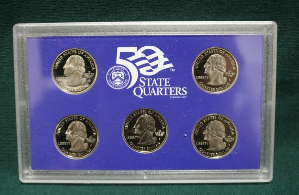 2003-S Proof Coin Set q front