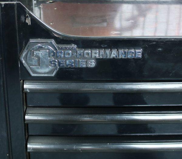Matco NHRA Tool Box label
