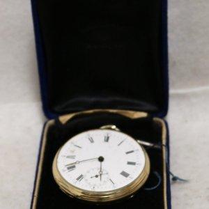 Swiss Gold Pocket Watch main