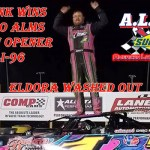 Schlenk Scores 25th Anniversary Sunoco American Late Model Series Opener / Eldora Washed Out