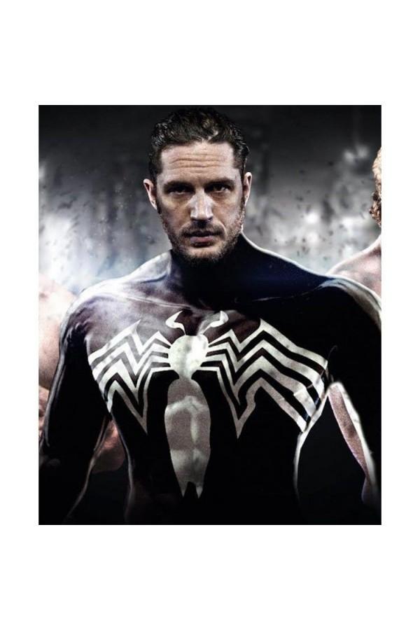 Venom Tom Hardy Eddie Brock Leather Jacket