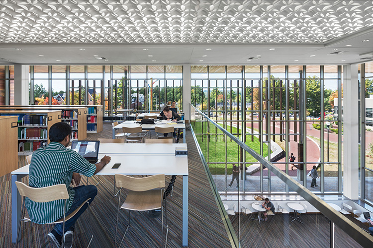 Library Learning Commons, Southern New Hampshire University