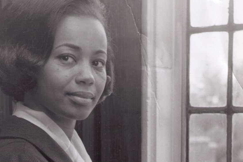 Jessie Carney Smith in 1965, her first year as a university librarian at Fisk University in Nashville.