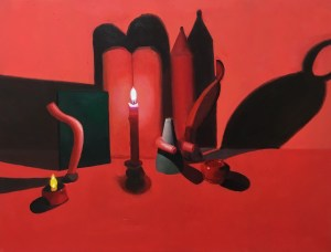 """Red Still Life 1"" – Meg Franklin"