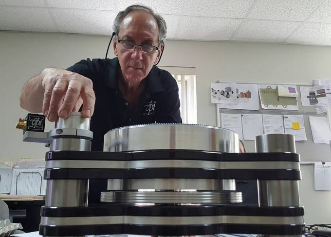 Harry Weisfeld and VPI Titan
