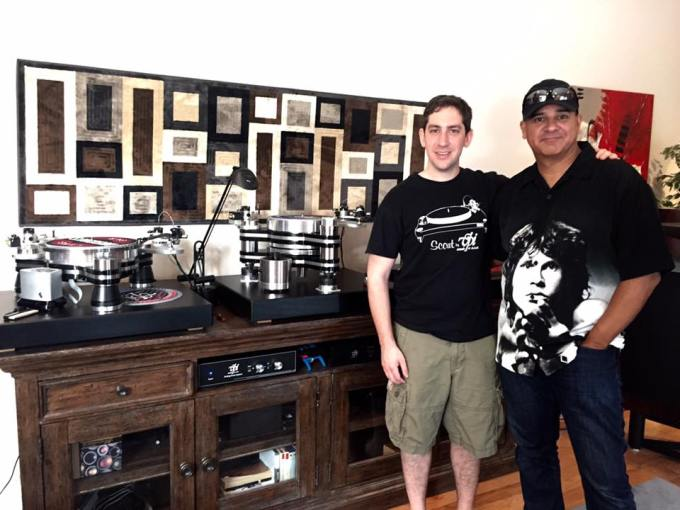 Mat Weisfeld and Oswaldo Martinez at VPI