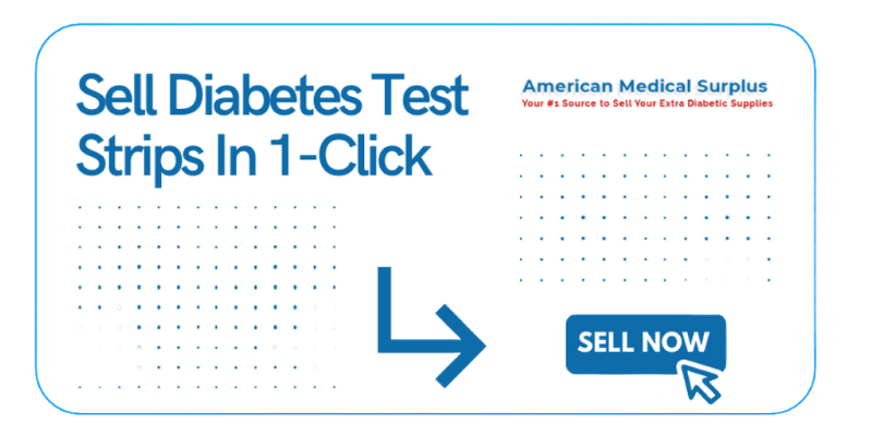 sell diabetes test strips