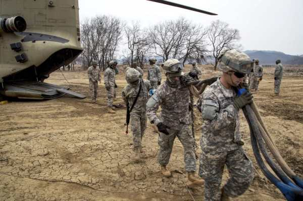 US military mum as report says joint exercises with South ...