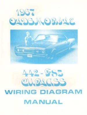 OLDSMOBILE 1967 F85, 442 & Cutlass Wiring Diagram