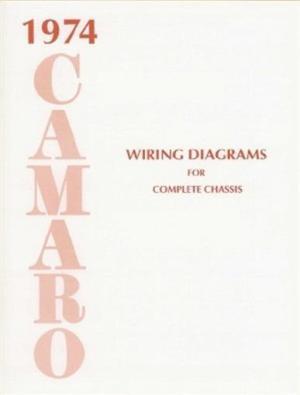 CAMARO 1974 Wiring Diagram 74