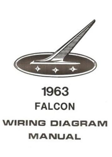details about ford 1963 falcon wiring diagram manual 63