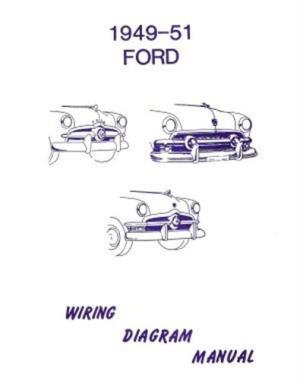 FORD 1949, 1950 & 1951 Car Wiring Diagram Manual | eBay