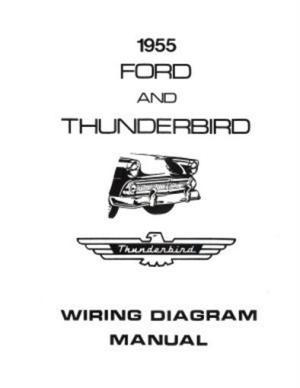 FORD 1955 Customline, Fairlaine & Thunderbird Wiring