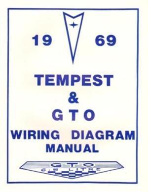 PONTIAC 1969 Tempest & GTO Wiring Diagram 69 | eBay