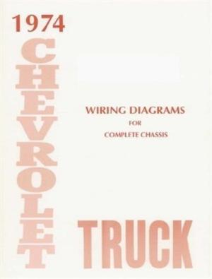CHEVROLET 1974 Truck Wiring Diagram 74 Chevy Pick Up | eBay