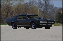 1969 GTO 400 4 spd Ram Air 4 metallic black