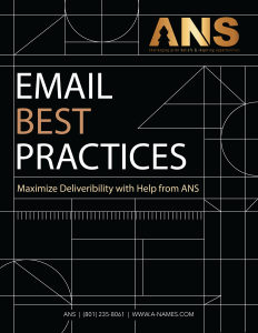 email best practices guide