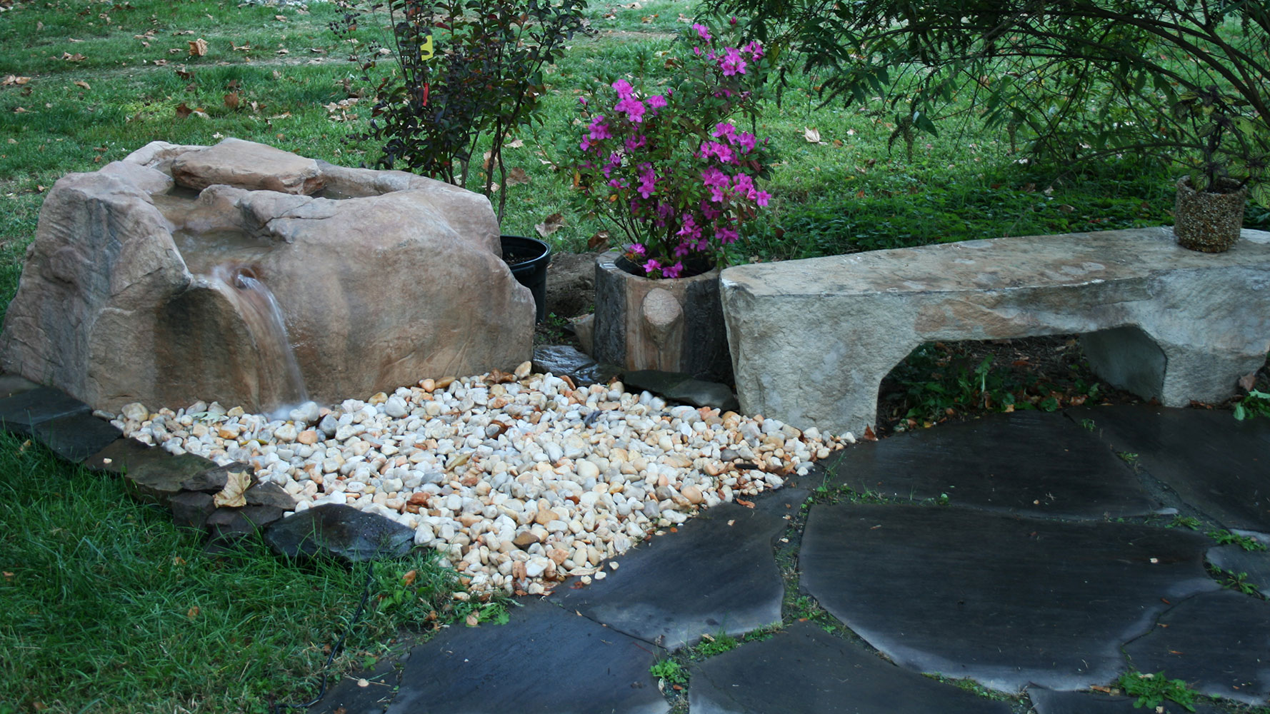 Benches, Boulders And More