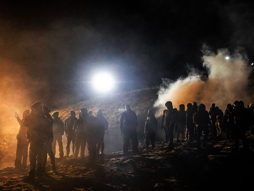 us fired tear gas into mexico on border
