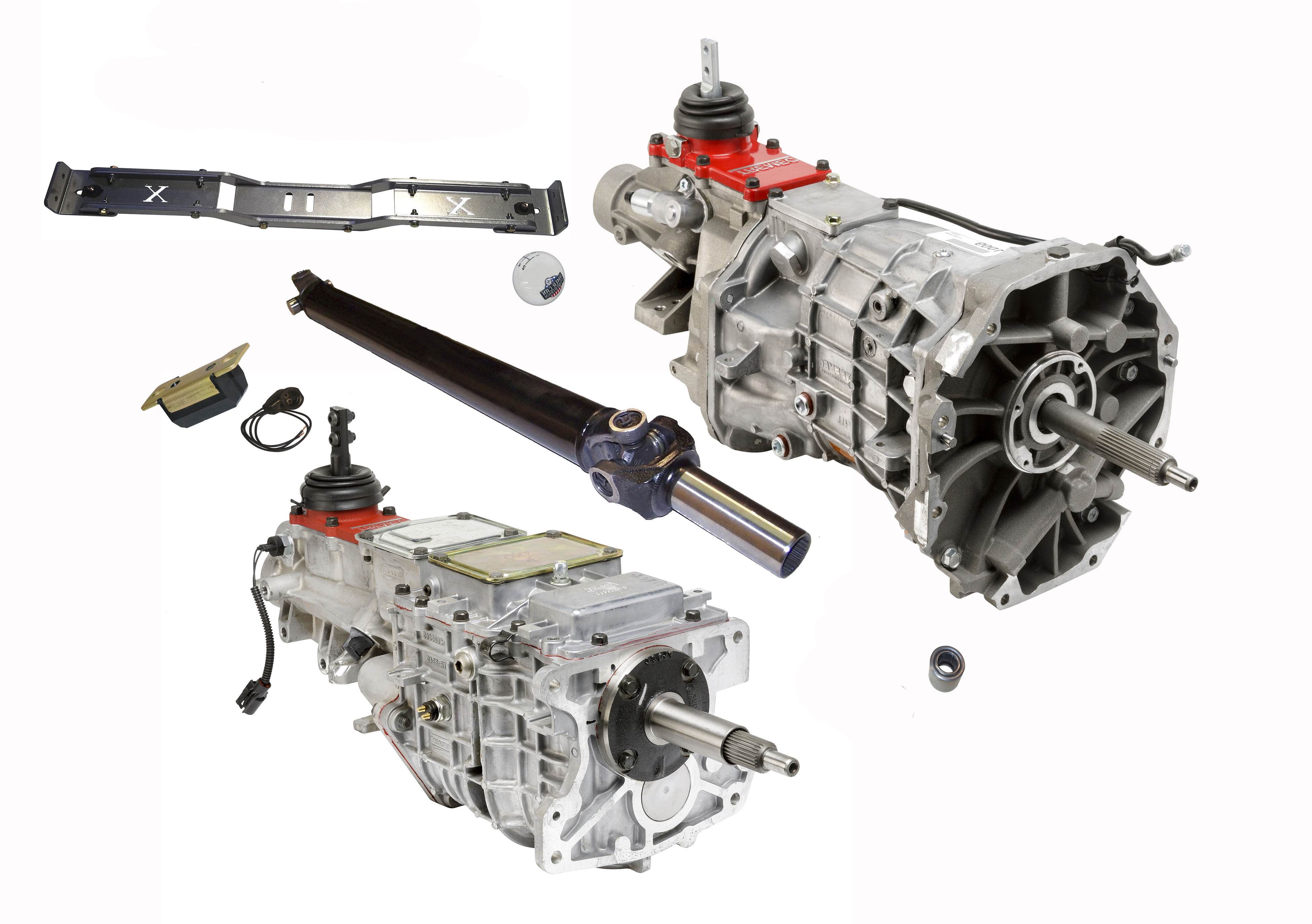 73-87 CHEVY/GMC SQUAREBODY TRUCKS 5 AND 6-SPEED KIT