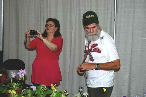 Photographers Pam Finney and Ed Buyarski