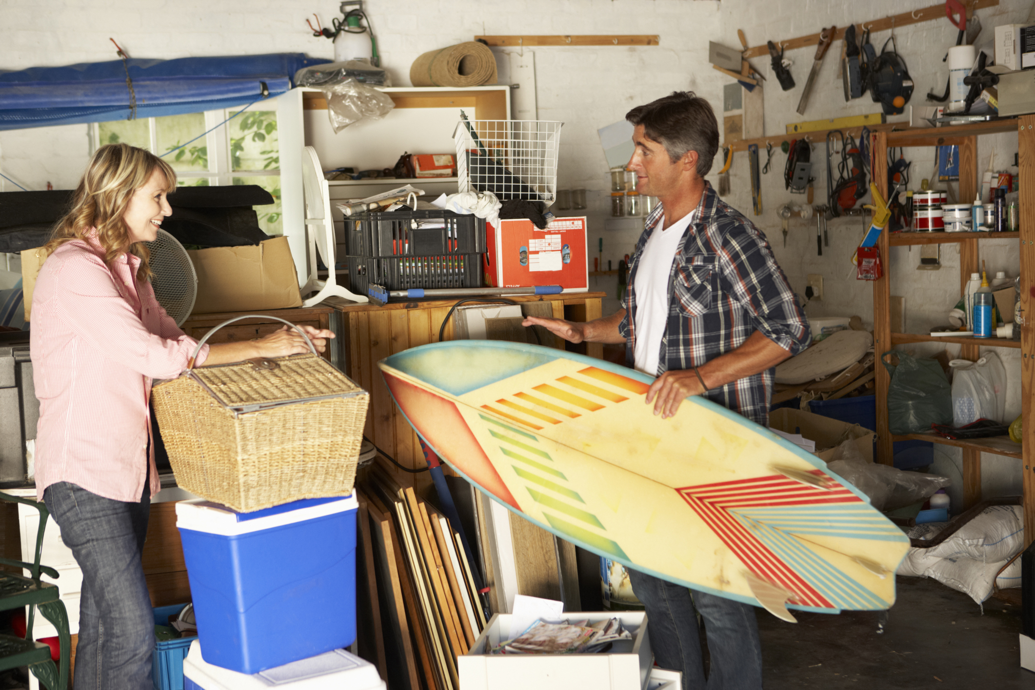 4 Steps to an Organized Garage - American Profile on Organized Garage  id=13798