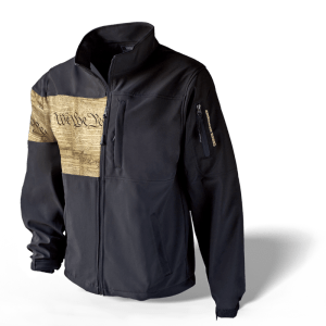 Men's Freedom Concealed Carry Jacket - Black/We The People