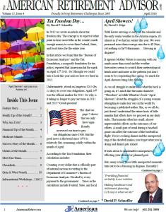 6-2015 June Newsletter Cover