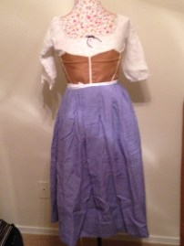Linen Petticoat (Pattern is my own)