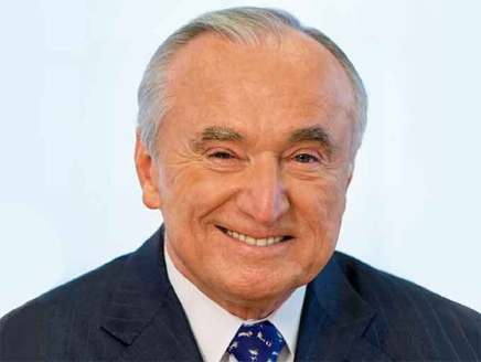 """William """"Bill"""" Bratton, former police commissioner of the New York Police Department (NYPD), the Boston Police Department (BPD) and former chief of the Los Angeles Police Department (LAPD), will speak at the 2019 'ASTORS' Homeland Security Awards Luncheon at ISC East 2019, on Wednesday, November 20th, at the Jacob Javits Convention Center (Courtesy of Teneo Risk)"""