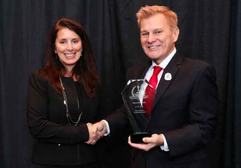 Carolyn Crandall, Chief Deception Officer and CMO, Attivo Networks, was recognized for the company's groundbreaking cyber technology innovations in the 2018 'ASTORS' Homeland Security Awards Program with record Seven Award Recognitions plus a coveted 2018 'Extraordinary Leadership Award.'